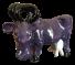 Ceramic Purple Cow